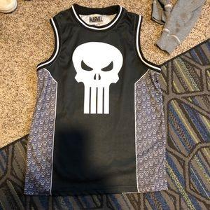Punisher jersey tank top